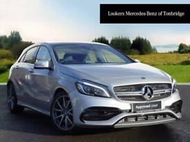 Mercedes-Benz A Class AMG A 45 4MATIC PREMIUM (silver) 2017-12-29