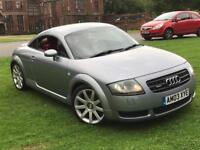 AUDI TT 225BHP 2003 (FULL RED LEATHER INTERIOR)