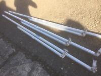 X3 scaffolding outriggers legs extendible