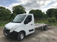 Vauxhall Renault master recovery truck