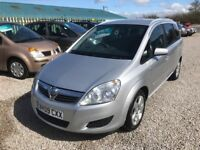 Vauxhall Zafira 1.6 *SALE STOCK CLEARANCE-7 SEATER*