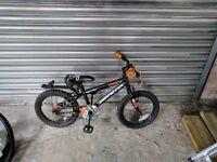 2 Children's BMX bike