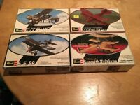 Revell WWI Aircraft models