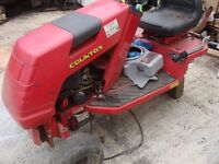 for sale garden tractor countax parts or full perfect engine tyres and etc