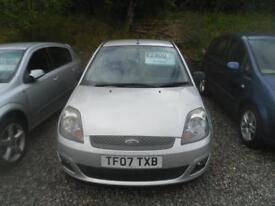 FORD FIESTA 1.4 Zetec 3dr [Climate] VERY LOW MILEAGE IDEAL POPULAR 1ST CAR �2800 (silver) 2007