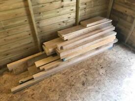 Oak and Ash timber/ wood
