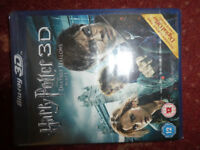 HARRY POTTER AND THE DEATHLY HALLOWS PART 1 3D BLU RAY DISC