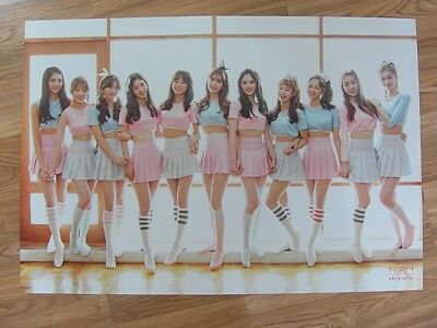 I.O.I - CHRYSALIS 1ST MINI ALBUM (REISSUE) [ORIGINAL POSTER] *NEW*K-POP 101 IOI