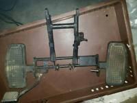 Jinlun JL 125-11 Sub frame and foot plates