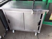 CATERING COMMERCIAL HOT FOOD PLATE WARMER HOT CUPBOARD FAST FOOD RESTAURANT TAKE AWAY CUISINE KEBAB