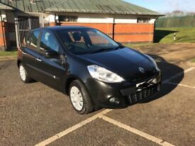 Black Clio 10plate. £0 Road tax, Mot july 2018