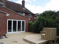 High quality garden fencing and decking