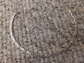 Sterling Silver Greek style Bracelet