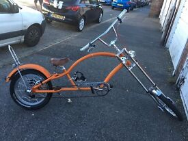 Custom chopper cycle