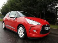 JUNE 2011 CITROEN DS3 D-STYLE 1.6 E-HDI AIRDREAM LOVELY COLOUR COMBINATION £0 NO ROAD TAX TO PAY!
