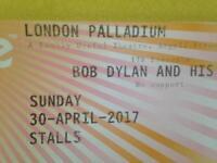 Bob Dylan Palladium, 1 ticket for Sunday 30 April