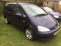 07873 638269 - 2001 - Ford Galaxy 1.9 TD – GHIA – 7 Seater- DIESEL -