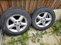 Nissan x trail alloy wheels
