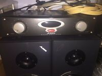 Pair Alesis monitor speakers & Amp