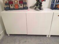 IKEA BESTA White Storage Unit