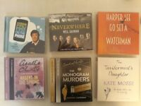 Four audio books + two radio productions