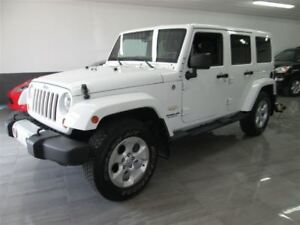 2013 Jeep WRANGLER UNLIMITED Sahara - NAVI -