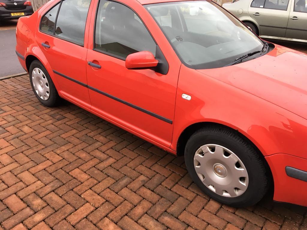 Volkswagen BORA 1.6 Red Petrol 12 Months MOT!! Good Condition.