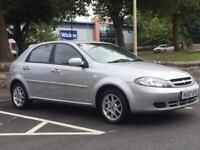 CHEVROLET LACETTI 2008(57 REG)*AUTOMATIC*VERY LOW MILES*PX WELCOME*DELIVERY