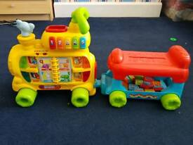 Vtech push and ride Alphabet train
