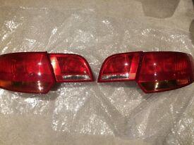 Audi A3 Sportback Rear Light set Genuine OEM 2008