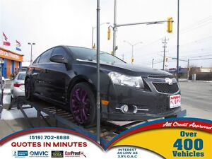 2012 Chevrolet Cruze LT | RS TURBO PKG | COLD AIR INTAKE | MUST