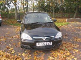 Vauxhall corsa 1.2 sxi 5dr black