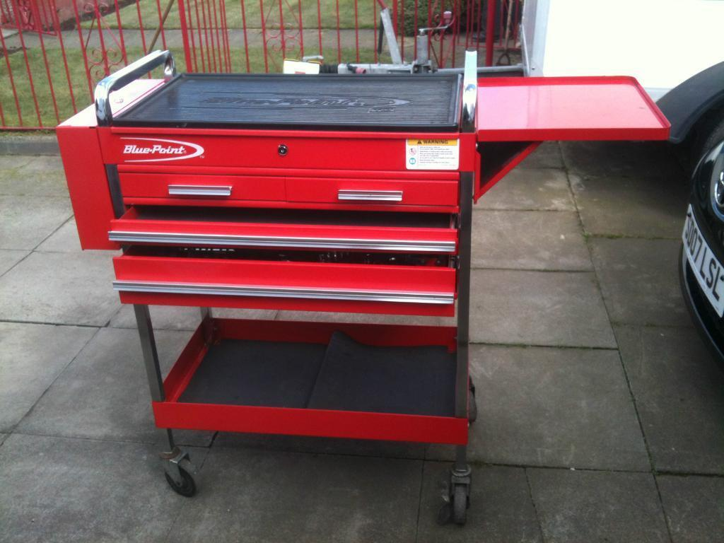 Bluepoint Snap On Tool Trolley Cabinet Tool Box Cart In