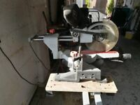 """SIP 10"""" compound sliding mitre saw and table 2000w"""