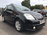 2003 CITROEN 1.4 C2 FURIO AUTOMATIC ** ONLY 59000 MILES + 12 MONTHS MOT + PADDLE SHIFTS**