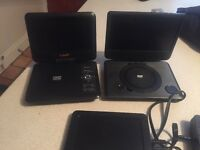 Portable DVD players and in cars DVD players