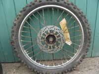 off road wheel and tyre