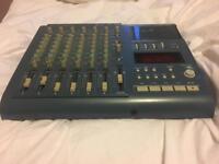 Tascam 424 Mk 3 4 track cassette mixer w/ power supply