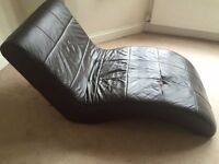 Chaise Lounge for Sale - Brown Leather