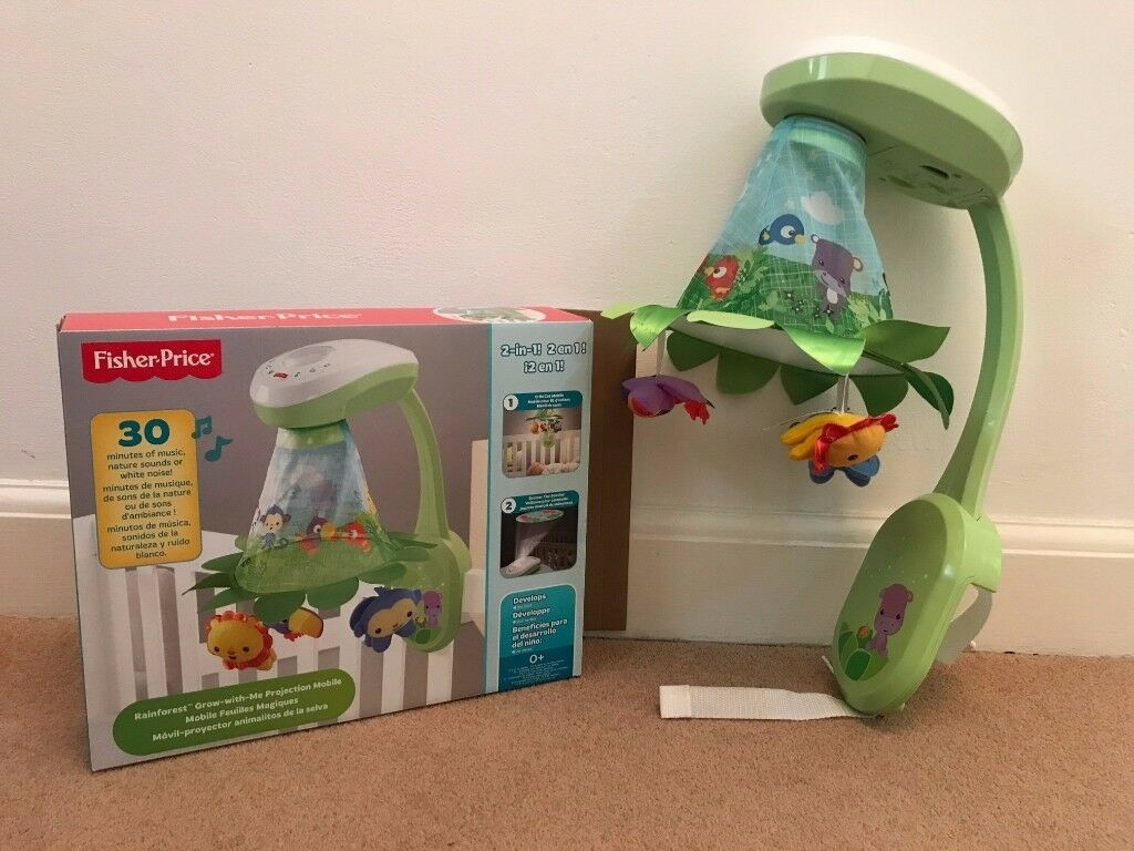 Fisher-Price Grow-with-Me Projection Mobile