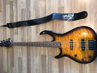 Left Handed - Peavey Millennium BXP Bass Guitar ( Lightly Used)