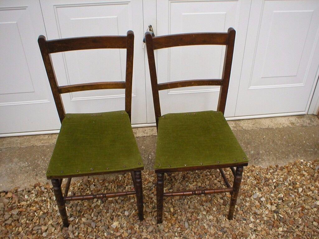 TWO SMALL ANTIQUE CHAIRS - TWO SMALL ANTIQUE CHAIRS In Chatteris, Cambridgeshire Gumtree