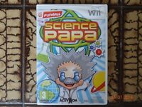 Nintendo Wii 'Science Papa' by Activision