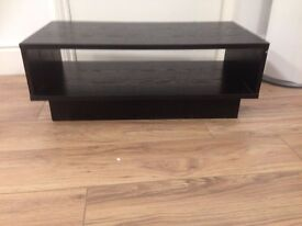 Black TV stand / coffee table