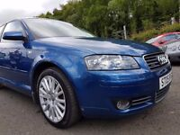 Audi A3 2.0 TFSI Sport Quattro++ MOT JUNE 17+FULL HISTORY+1 OWNER SINCE NEW+6 MONTH WARRANTY INC