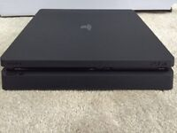 PS4 Slim with GTA V, Uncharted 4, FF XV, Battlefield 1, Let It Die (W/ Amazon guarantee)