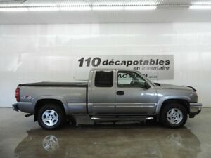 2007 Chevrolet Silverado 1500 LS 4X4 CAB. ALLONGÉE - HITCH