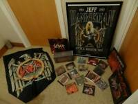 Large Slayer Heavy Metal Memorabilia Collection