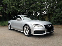 Business Class Chauffeur Car Hire | Weddings | Airport Transfers - Audi A7