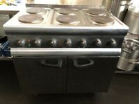 Lincat 6 burner hob with twin fan oven